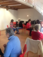 Social project for older people - body percussion