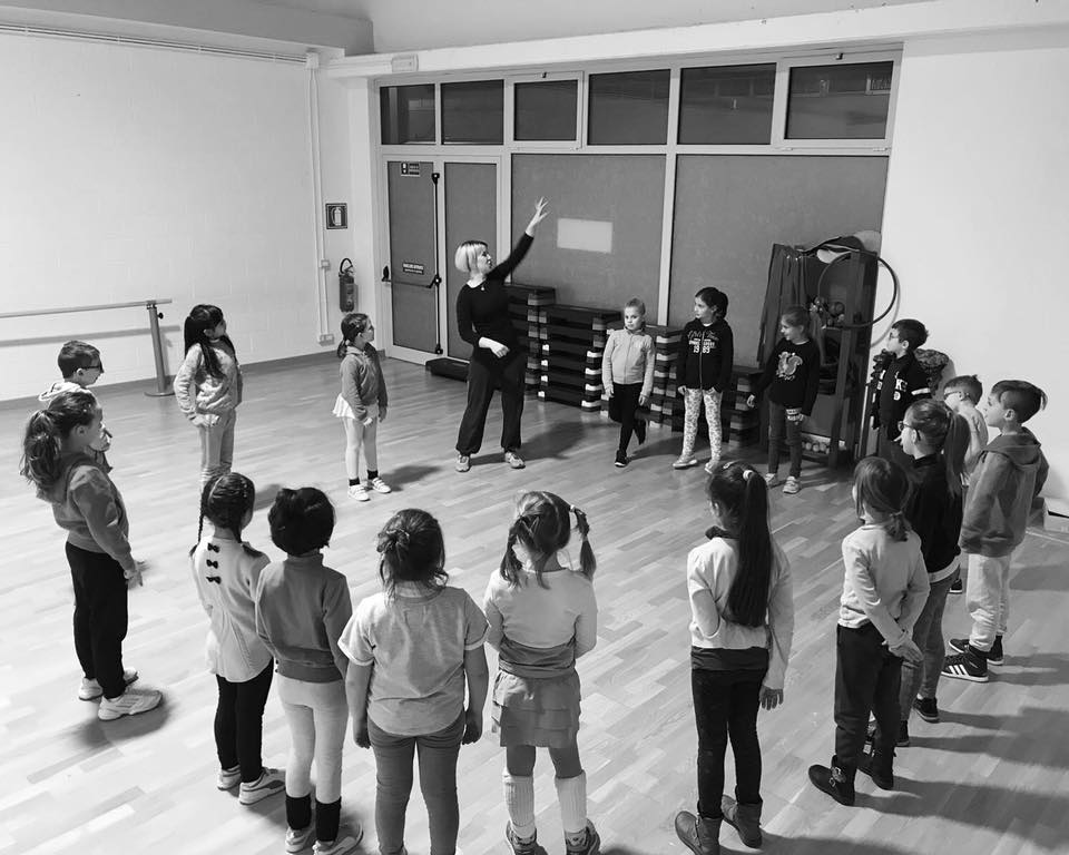 Body Music in silence. How a non-verbal approach can help to manage a group of children.